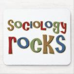 Rocas de la sociología tapetes de raton