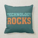 Rocas de la tecnología almohada