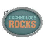 Rocas de la tecnología hebilla de cinturón