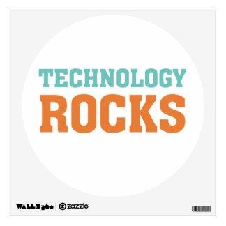 Rocas de la tecnología vinilo