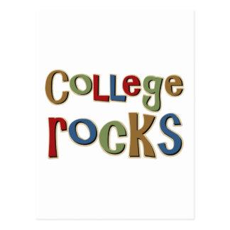 Rocas de la universidad postal