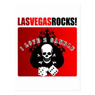 ¡Rocas de Las Vegas! Postales