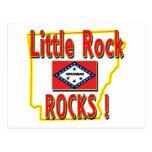 ¡Rocas de Little Rock! (rojo) Postales