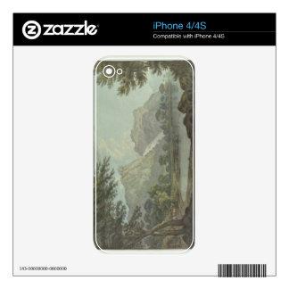 Rocas de Lodore - caída y distancia de la cabaña ( Calcomanía Para El iPhone 4