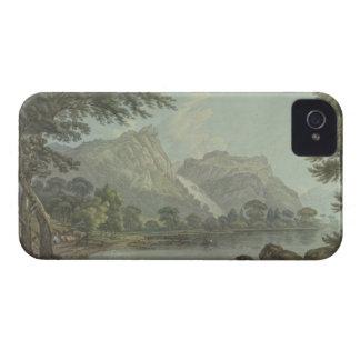 Rocas de Lodore - caída y distancia de la cabaña ( iPhone 4 Funda