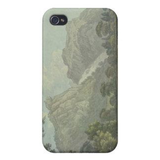 Rocas de Lodore - caída y distancia de la cabaña ( iPhone 4/4S Funda