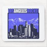 ¡Rocas de Los Ángeles! Alfombrillas De Ratones