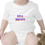 Rocas de los E.E.U.U. Trajes De Bebé