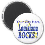 ¡Rocas de Luisiana! Iman Para Frigorífico