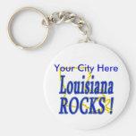 ¡Rocas de Luisiana! Llaveros