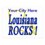 ¡Rocas de Luisiana! Postal
