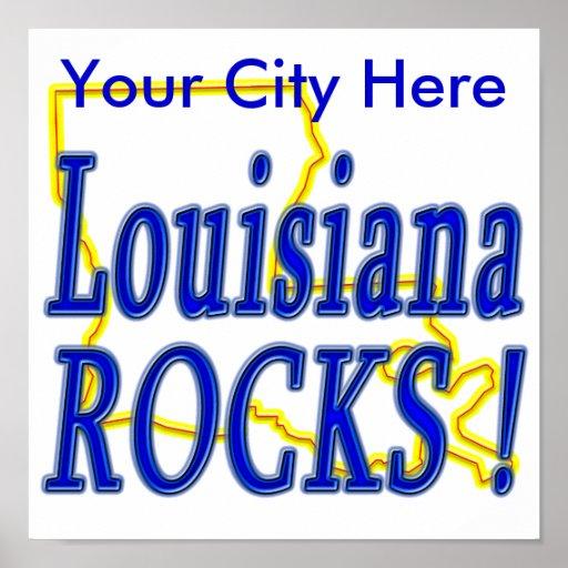 ¡Rocas de Luisiana! Posters