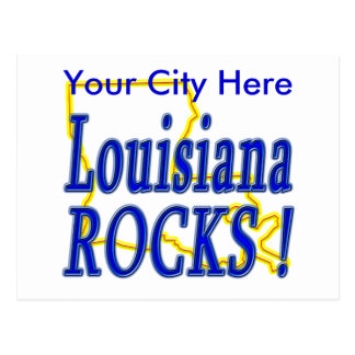 ¡Rocas de Luisiana! Tarjeta Postal