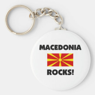 Rocas de Macedonia Llaveros