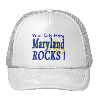 ¡Rocas de Maryland! Gorras De Camionero