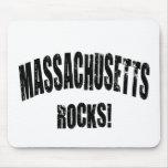 ¡Rocas de Massachusetts! camisetas. Diseño elegant Alfombrillas De Ratones