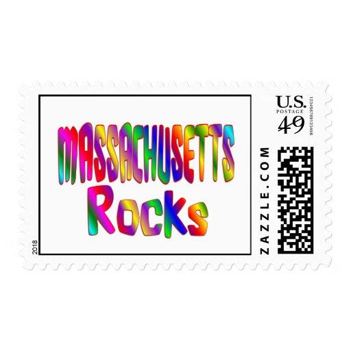 Rocas de Massachusetts Sello