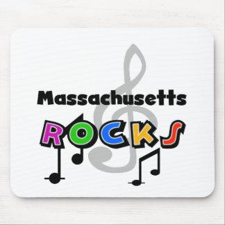 Rocas de Massachusetts Tapetes De Ratón