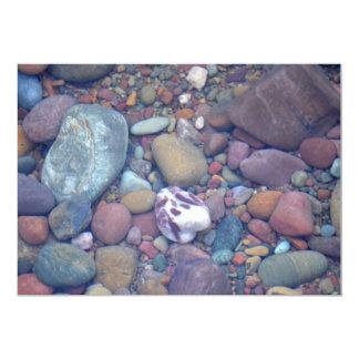 Rocas de McDonald del lago Invitación 12,7 X 17,8 Cm