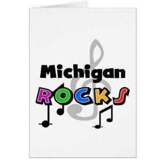 Rocas de Michigan Tarjeta De Felicitación