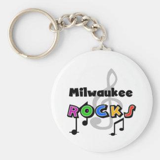 Rocas de Milwaukee Llaveros Personalizados