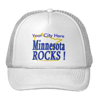 ¡Rocas de Minnesota! Gorro De Camionero