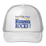 ¡Rocas de Minnesota! Gorras De Camionero