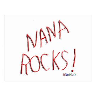 ¡Rocas de Nana! Postal