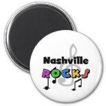 Rocas de Nashville Imán Redondo 5 Cm