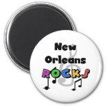 Rocas de New Orleans Imanes De Nevera