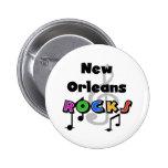 Rocas de New Orleans Pin