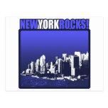 ¡Rocas de Nueva York! Postal