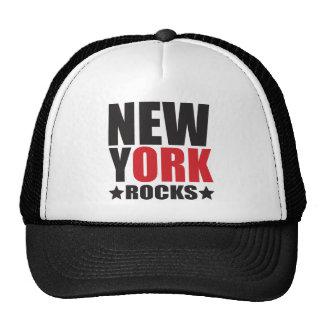 ¡Rocas de Nueva York! Regalos y ropa del alcohol d Gorros