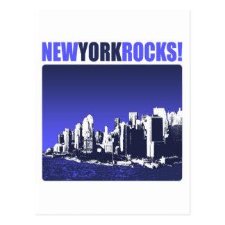 ¡Rocas de Nueva York! Tarjetas Postales