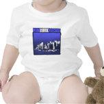 ¡Rocas de Nueva York! Traje De Bebé