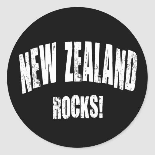 ¡Rocas de Nueva Zelanda! Etiquetas