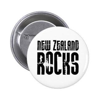 Rocas de Nueva Zelanda Pin