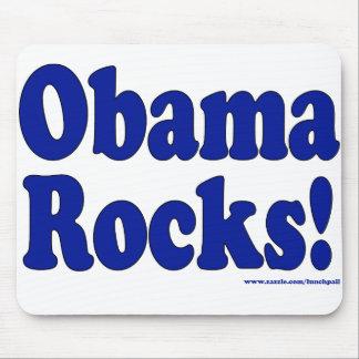 Rocas de Obama Alfombrilla De Raton