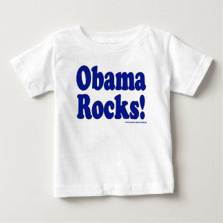 Rocas de Obama Playera De Bebé