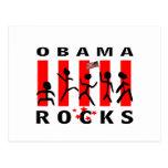 Rocas de Obama Postal