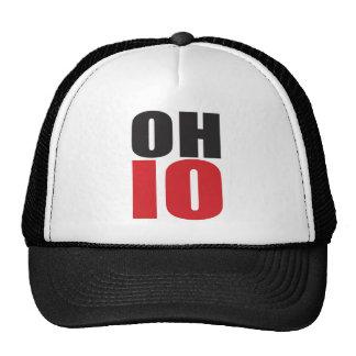 ¡Rocas de Ohio! Regalos y ropa del alcohol del est Gorras De Camionero