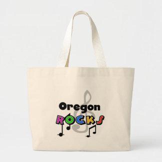 Rocas de Oregon Bolsa De Tela Grande