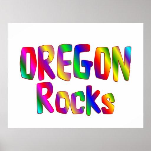 Rocas de Oregon Impresiones