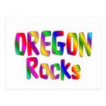 Rocas de Oregon Tarjeta Postal