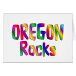 Rocas de Oregon Tarjetas