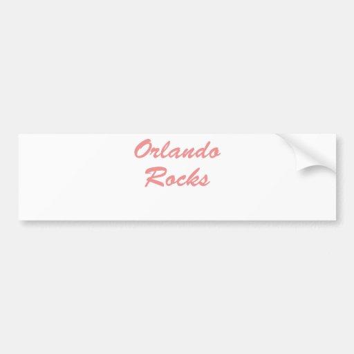 Rocas de Orlando Pegatina Para Auto