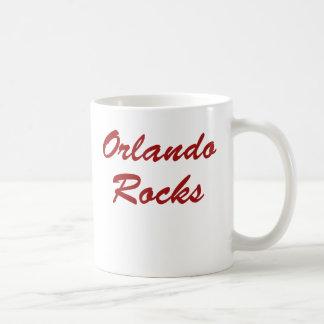 ¡Rocas de Orlando!!! Tazas De Café