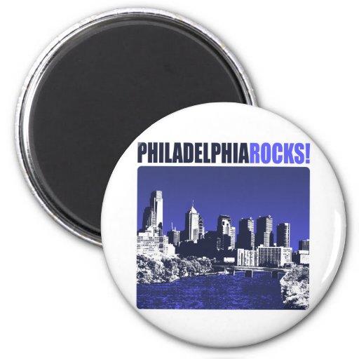 ¡Rocas de Philadelphia! Imán Para Frigorífico