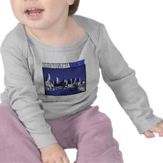 ¡Rocas de Philadelphia! Camisetas