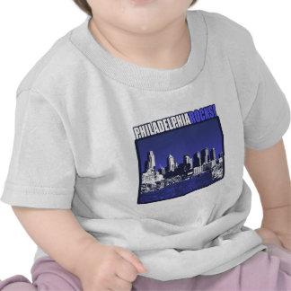 ¡Rocas de Philadelphia! Camiseta